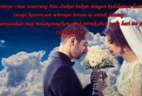 Caption Pernikahan Romantis